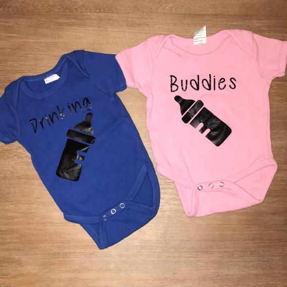 cf860ec42 One Pieces | Boy Girl Twin Drinking Buddies Onesies | Poshmark